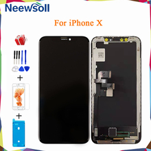 Amoled Oled For iPhone X LCD Display Screen For iPhone X Touch Screen Digitizer Assembly Replacement