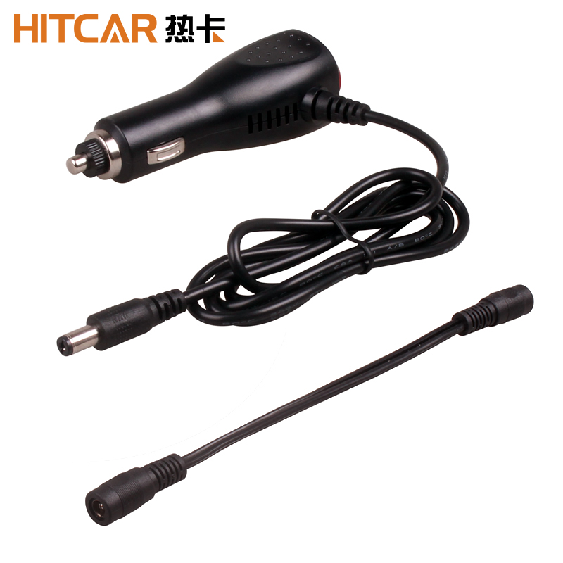 Car Truck Bus Boat Motorbike Cigarette Lighter 12V 24V Power Supply Socket Adapter Extension Cable DC 2 1x5 5mm Male Female Plug