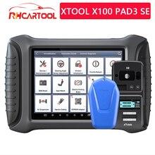Xtool x100 pad3 se com KS 1/kc501 infravermelho chave completa sistemas obd2 programador chave diagnóstico scanner ferramentas para benz atualização gratuita