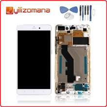 1920x1080 Original For MI Note LCD Display Touch Screen Digitizer Assembly For XIAOMI Mi Note Pro Display with Frame Replacement цена в Москве и Питере