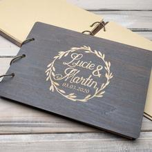 Wedding Guestbook Custom Guest Book Personalized Wooden Wedding Guest Book Engraved Rustic Wedding Album customized wedding guest book world map guestbook for destination wedding our adventure book travel journal