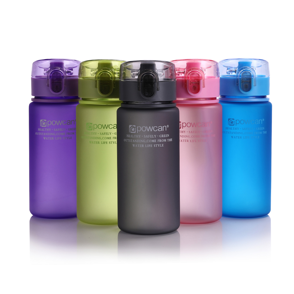 Water Bottle 400ml 560ml Plastic Gourde en Plastique Sport Direct Drinking Shaker Bottles Hiking Portable Bottle For Water