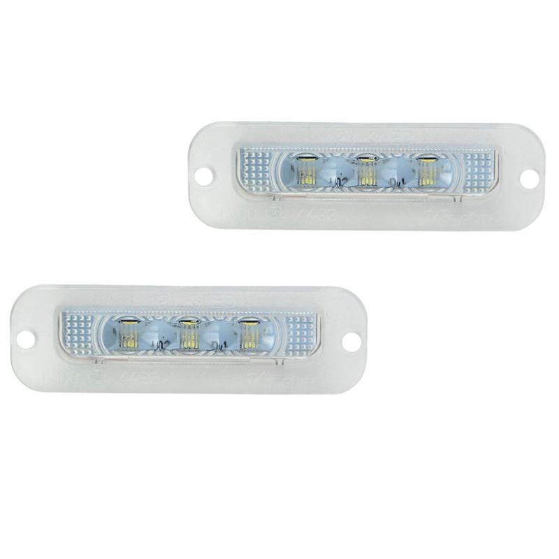 Car LED License Plate Light Lamp for Mercedes-Benz W463 G500 G550 <font><b>G55</b></font> <font><b>AMG</b></font> image