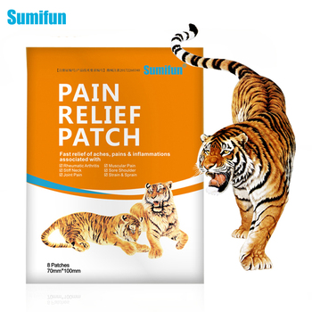 Sumifun 8Pcs Pain Relief Patch Fast Relief Aches Pains & Inflammations Health Care Lumbar Spine Medical Plaster 12pcs foot care medical plaster foot corn removal calluses plantar warts thorn plaster health care pain relief pads patch a172