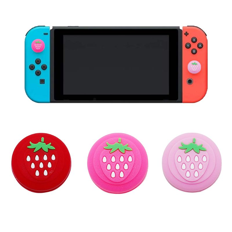 Cubiertas protectoras para el botón N intendo Switch Lite, Joystick de goma, fundas de botones, accesorios NS