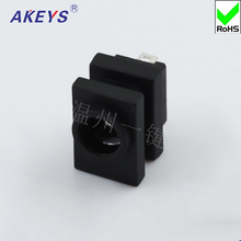 6 PCS DC-531 2 feet high temperature quality master DC Power Socket Square power socket Vertical Patch