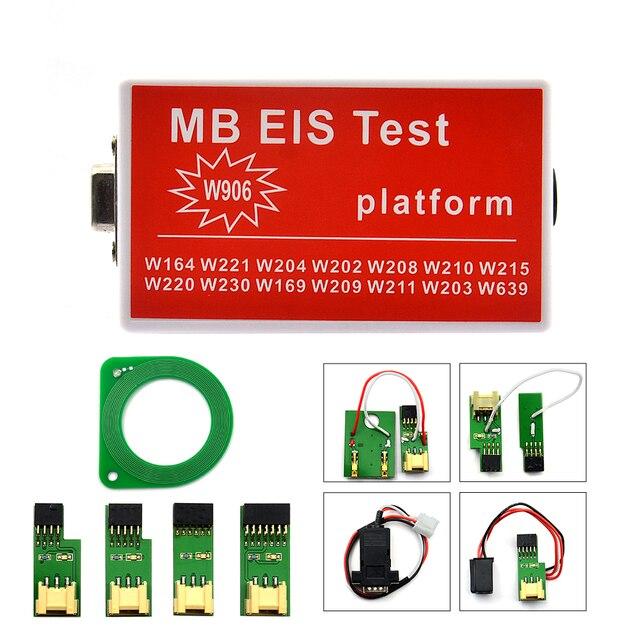 أحدث MB EIS اختبار ل جديد MB EIS W211 W164 W212 MB EIS اختبار منصة MB السيارات مفتاح مبرمج ل بنز شحن مجاني