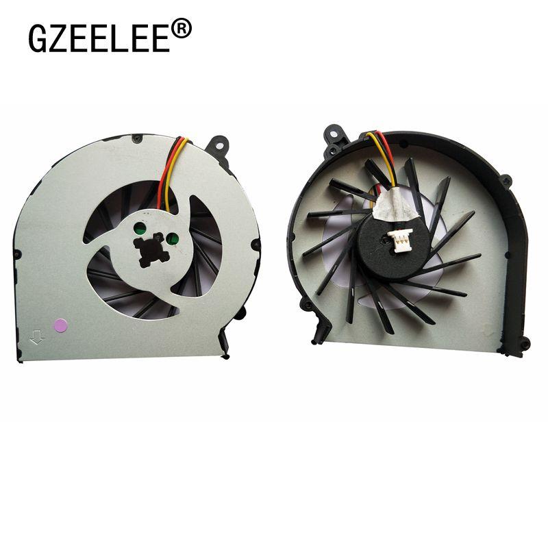GZEELE New CQ43 CQ57 Laptop Cpu Cooling Fan For HP Compaq CQ43 G43 CQ57 Laptop Fan G57 430 431 435 436 630 635 Cpu Fan Cooler