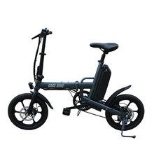 CMS-F16-Plus 16-дюймовый мини-карман для е-байка 36В 250 Вт алюминиевый сплав складной электрический велосипед, способный преодолевать Броды для города эротических игр