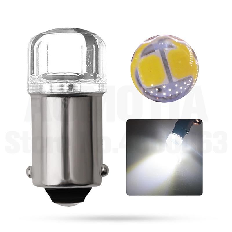 Hb270cf9559e34cb7a75f18540ccf0666n 2x BA9S T4W LED Car light bulb T2W T3W H5W interior Car LED License Plate light 2 LED 2835 SMD DC12V 12913 12910 12929