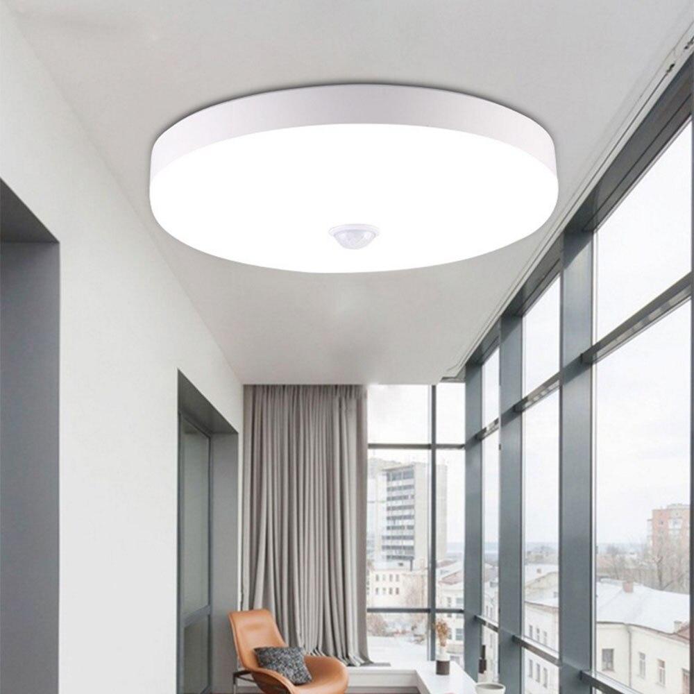 PIR Motion Sensor LED Ceiling Lamps Ceiling Light 12W 18W Night Lighting Modern Ceiling Lights For Entrance