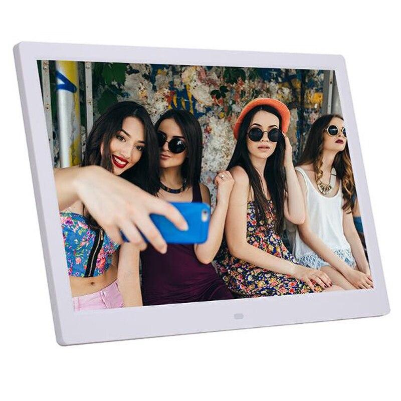 10.1 Polegada hd digital photo frame 1024x600 hd ultra-fino led eletrônico álbum de fotos quadro de foto lcd