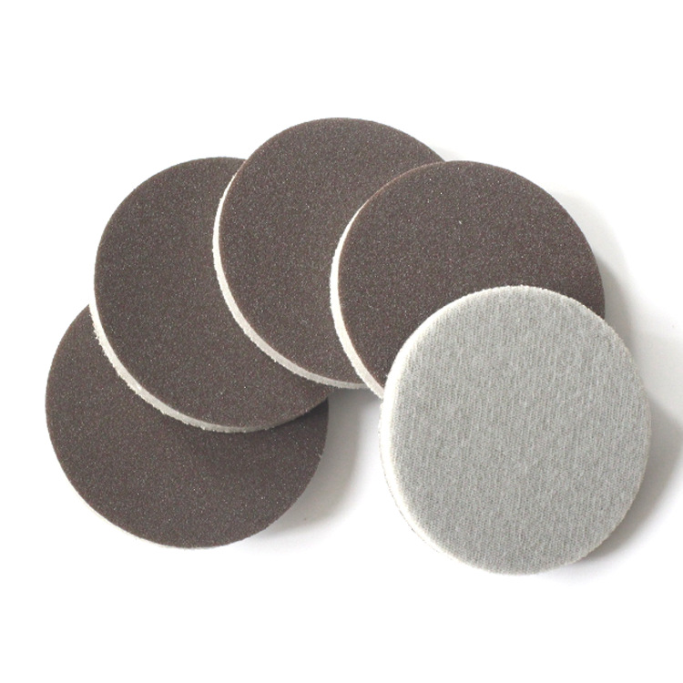 Apple Cell Phone Shell Polishing Foam Round Plates Sponge Abrasive Paper Coffee 3-Inch 75mm500-1500 Mesh