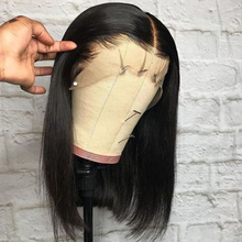 Short Bob Wig Straight Lace Front Human Hair Wigs For Women Brazilian 360 Lace Frontal Wig