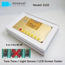 6 en 1 pour iphone 6S 6S plus 7 7plus 8 8plus boîte de testeur décran tactile avec des outils de boîte de testeur daffichage à cristaux liquides de carte dessai
