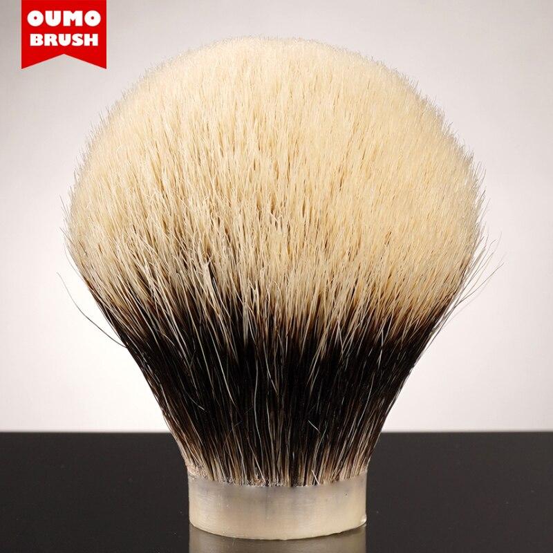 Oumo escova-bulbo shd handmaster melhor dois banda escova de barbear nós