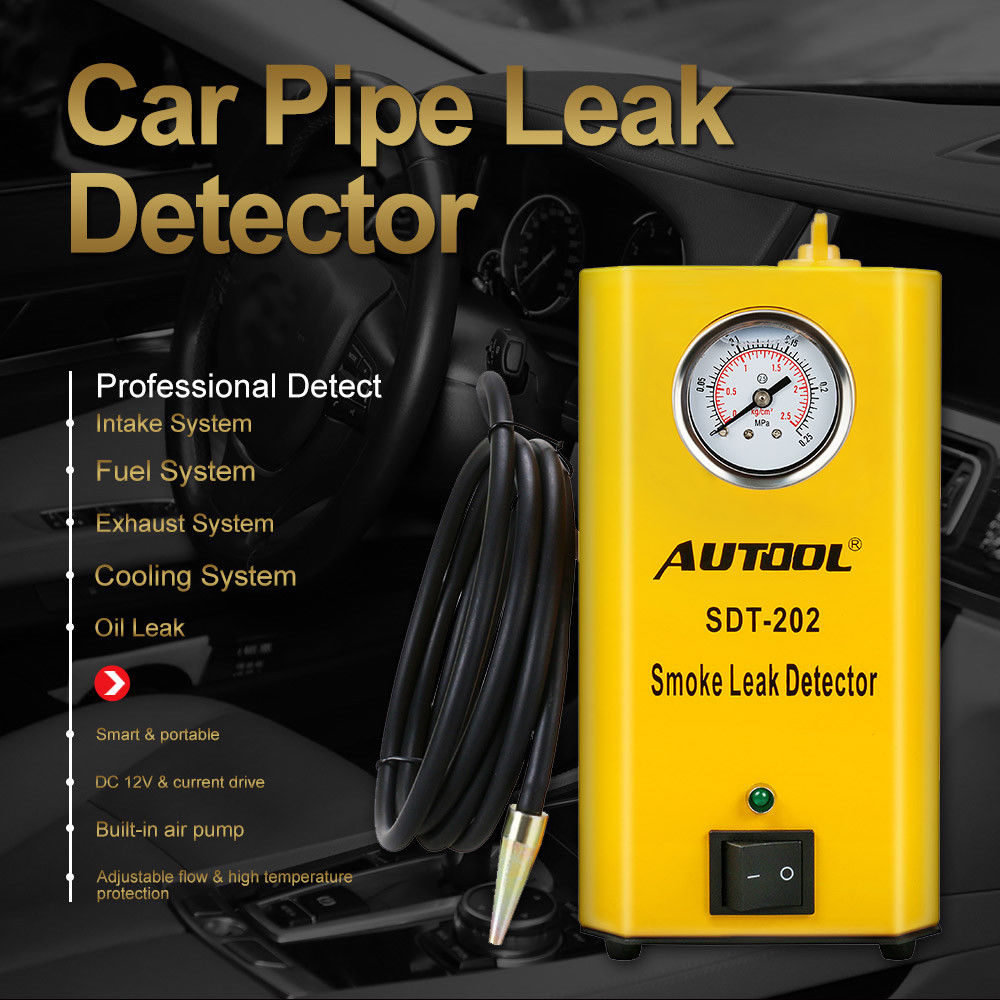 Image 3 - AUTOOL SDT202 Automobile Smoke Generator Car Smoke Leak Detector of Pipe Systems Smoke Leak Tester Pipe Diagnostic Tool SDT 202-in Gas Analyzers from Automobiles & Motorcycles on