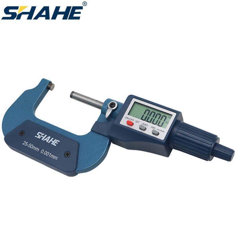 0.001mm Electronic Outside Micrometer 0-25mm Digital Tube Micrometer Caliper