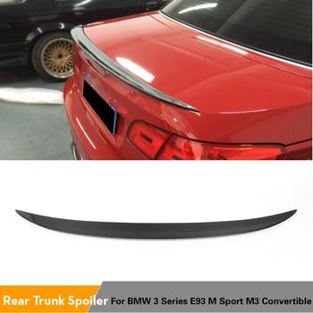 Carbon Fiber / FRP Unpainted Rear Spoiler Trunk Boot Wing Lip For BMW 3 Series E93 325i M3 2-Door Convertible M3 2007 - 2013
