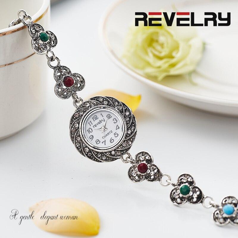 REVELRY Watches Women Quartz Wristwatch Clock Ladies Dress Gift Watches Casual Bracelet Watch Waches Women Relogio Feminino 2019