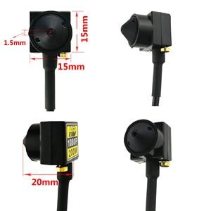 Image 5 - 200 w hd 1080 p ahd câmera micro mini câmeras de vigilância cctv para ahd dvr sistema de segurança
