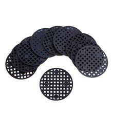 Mesh-Pad Bonsai-Pot Bottom-Grid Round Hole Mat 100pcs Netting-Hole-Screen