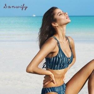 Sonho espaço conjunto de biquíni feminino rendas até cruz tanga triângulo biquíni banho 2020 praia maiô