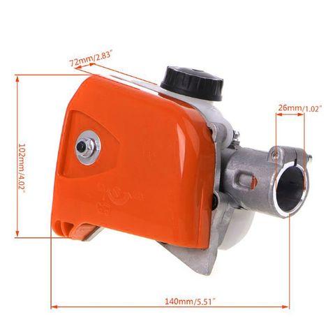 Cortador de Árvore Motosserra Gearbox Cabeça Spline Pólo Viu Ferramenta 7 – 9 26mm Mod. 330830
