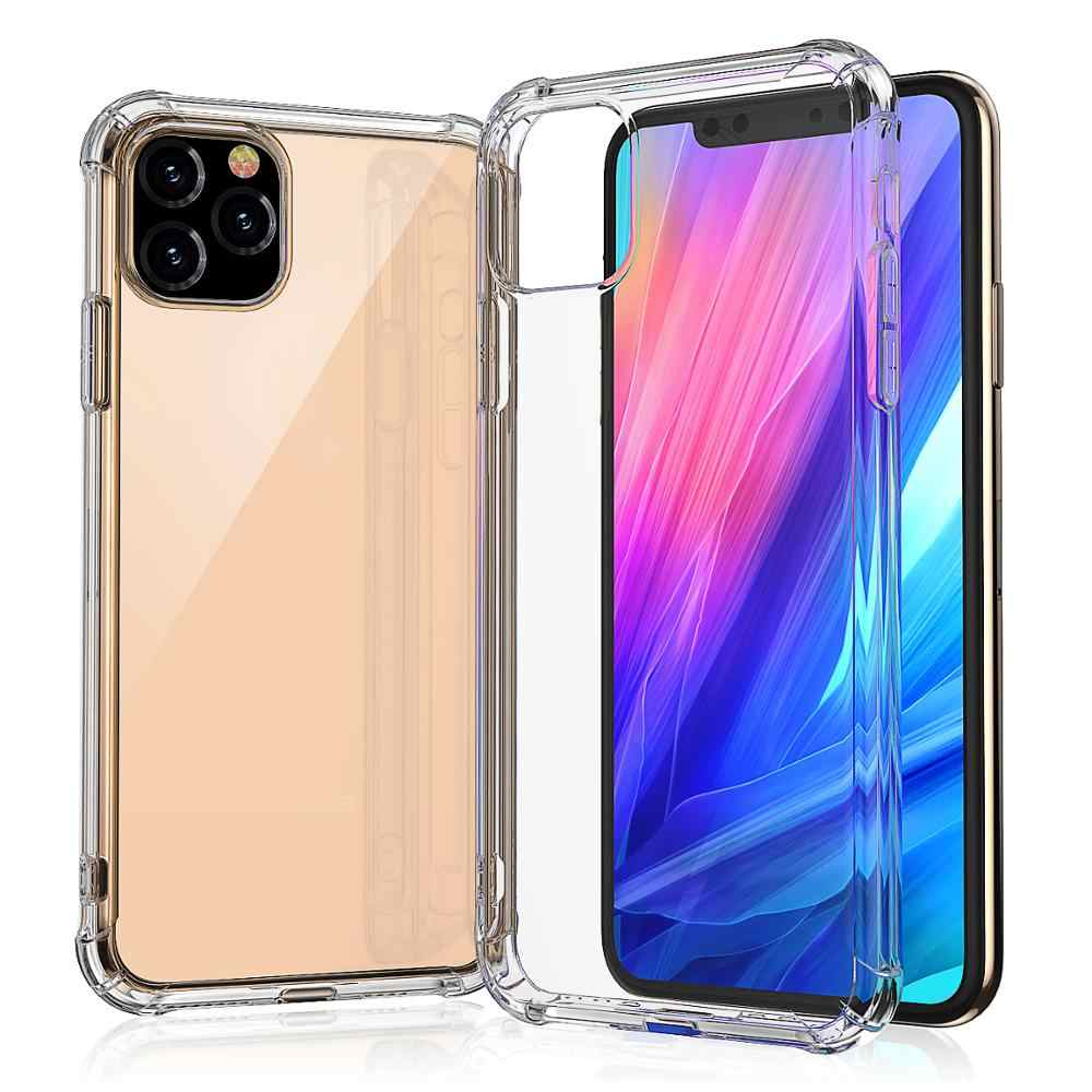 Ultra Thin Clear Telefoon Case Voor Iphone 11 Pro Max Case Iphone Xr Xs Max X 7 8 6 6S Plus Soft Tpu Transparant Back Cover
