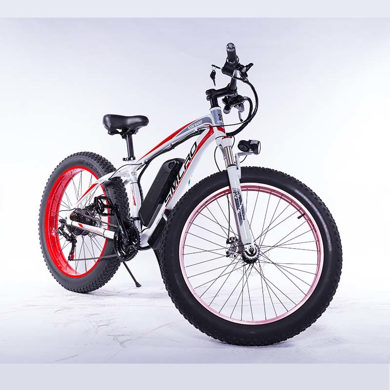 "XDC600 Fat Tire Electric Bike Beach Snow Bicycle 26"" 4.0 inch ebike 750W(bafang motor)/1000W Electric Mountain Bicycle 2"