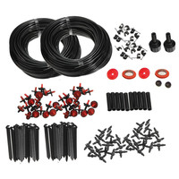 1 Set 46m Micro Drip Irrigation Self Watering Automatic System Kit Set Drippers For Plant Garden Greenhouse