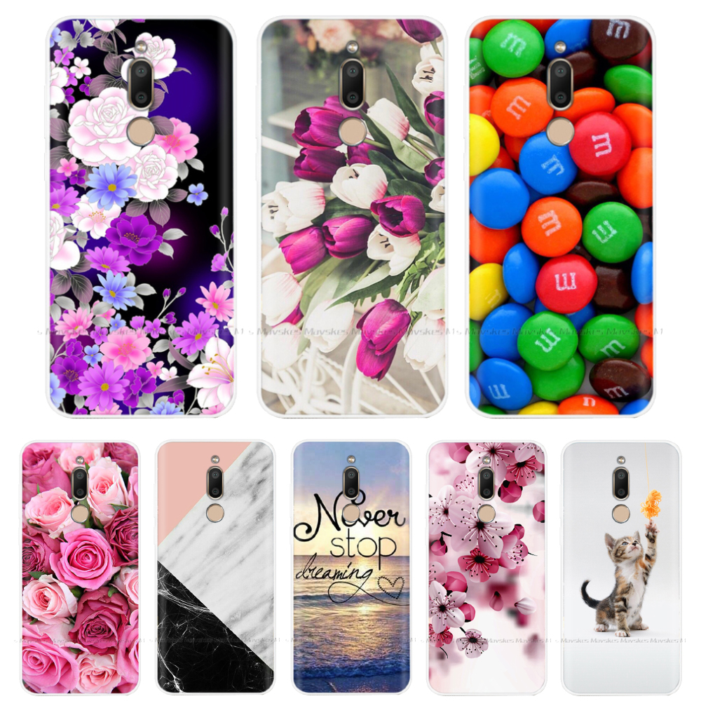 Flower Case For <font><b>Meizu</b></font> <font><b>M6T</b></font> Case Soft TPU Back Shell Cover For Fundas <font><b>Meizu</b></font> <font><b>M6T</b></font> Silicone Case M6 T M 6T <font><b>M811H</b></font> Phone Cases Coque image