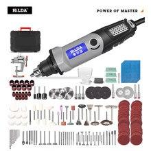 HILDA perceuse électrique Mini graveur outil rotatif 400W Mini perceuse 6 positions pour Dremel outils rotatifs Mini Machine de meulage