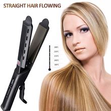 Professional Salon Ceramic Tourmaline Ionic Flat Iron Hair Straightener