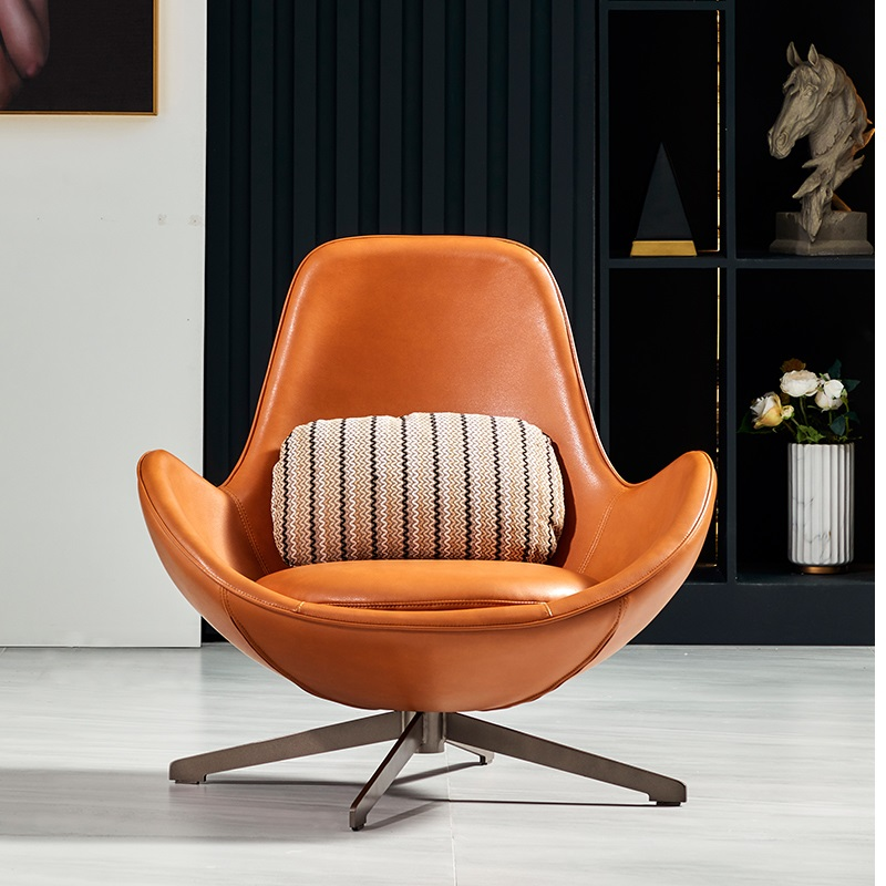 U-BEST Hotel Living Room Bedroom Furniture Cafe Restaurant Modern Fashion Style Luxury Leisure Lounge Fabric Metal Legs Chair