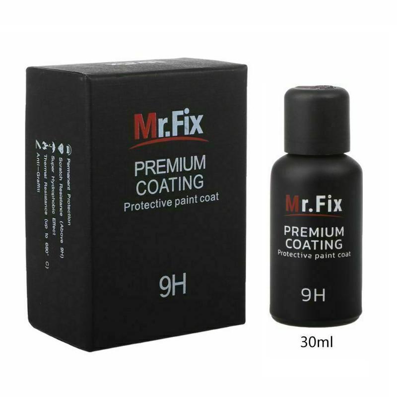 Mirror Shape Auto Ceramic Coat Paint Silicon Dioxide Accessory Premium Protective|Grinding Polishing Paste & Liquid| |  - title=