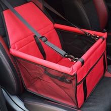 Pet Dog Car Carrier Seat Bag Waterproof Basket Safety Travelling Mesh Hanging Bags Dogs For