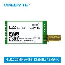 E22-400T30D LoRa SX1268 433 MHz Wireless Transmitter and Receiver UART DIP 30dBm 1W Long Distance 433MHz rf Transceiver