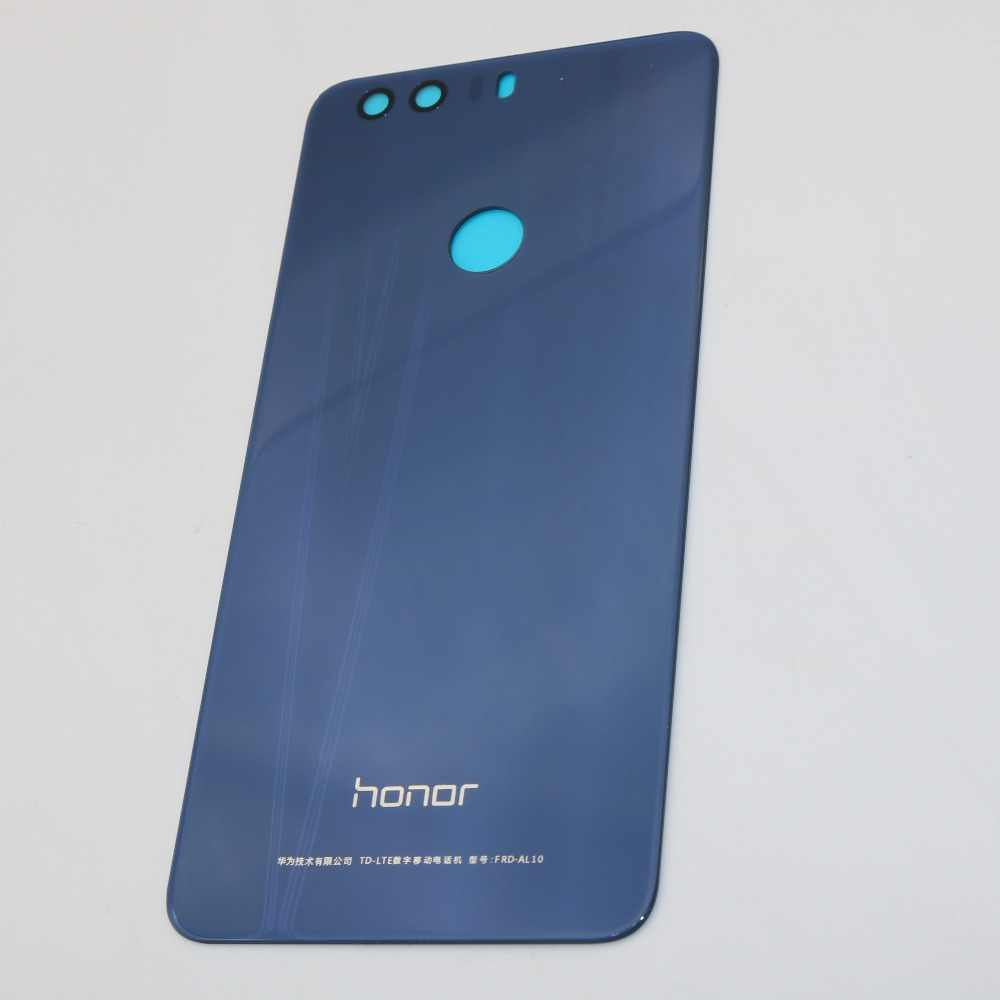 Original Battery Cover For Huawei Honor 8 Back Rear Glass Battery Cover with Glue Adhesive Sticker Replacement part
