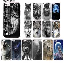 Maiyaca Classic Cool Wolf Hipster Telefoon Case Cover Voor Iphone Se 2020 11 Pro Xs Max 8 7 6 6S Plus X 5 5S Se Xr(China)