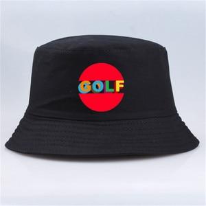 2020 drukuj Casual mężczyźni kobiety marka Golf Wang Tyler twórca kapelusz Punk Rock kapelusze wiadro lato rybak Panama czapki czapka myśliwska