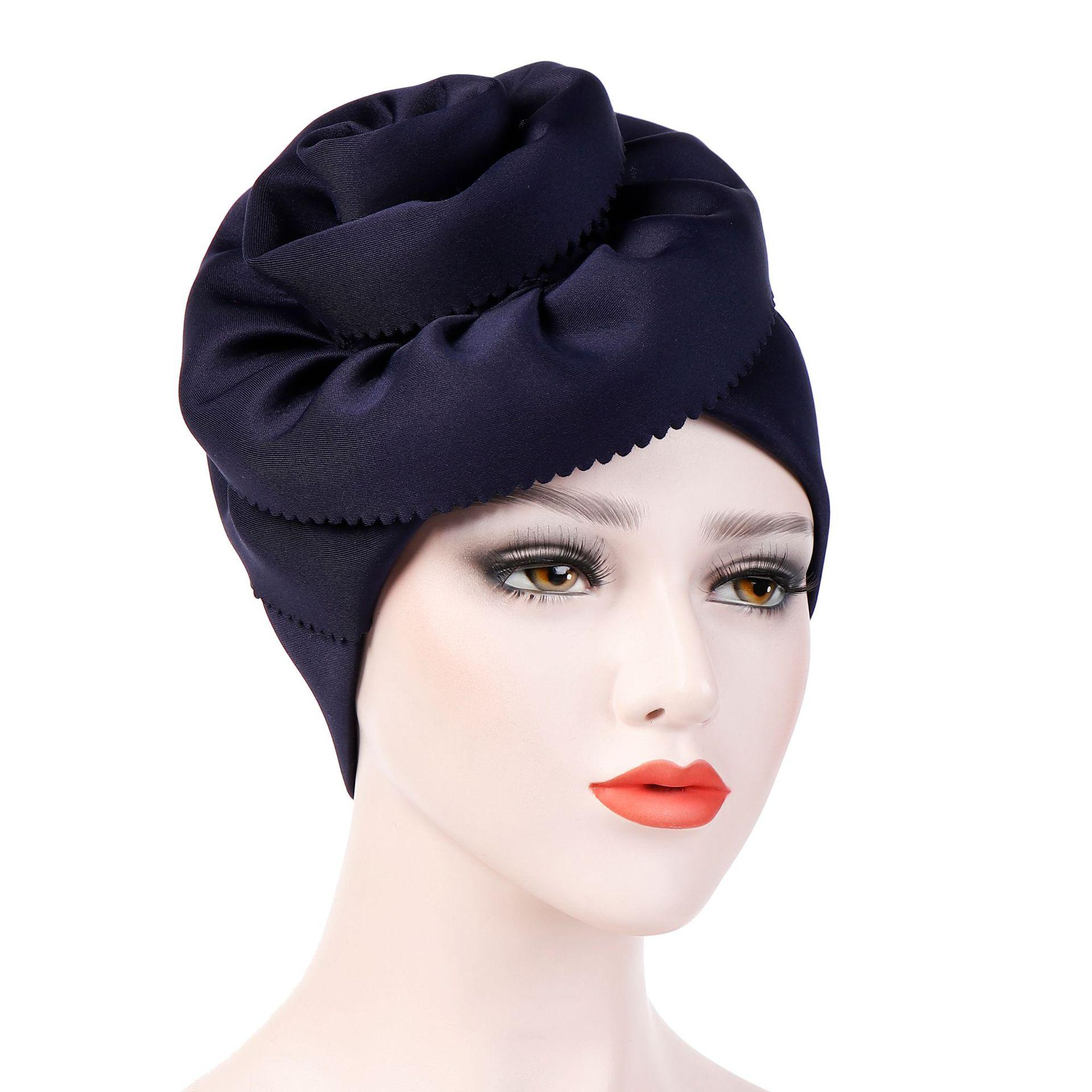 Muslim Hijab Caps Winter Hats For Women Hat Women Winter Cap Beanies For Ladies Turban Hijab Woman Hats Winter Accessories