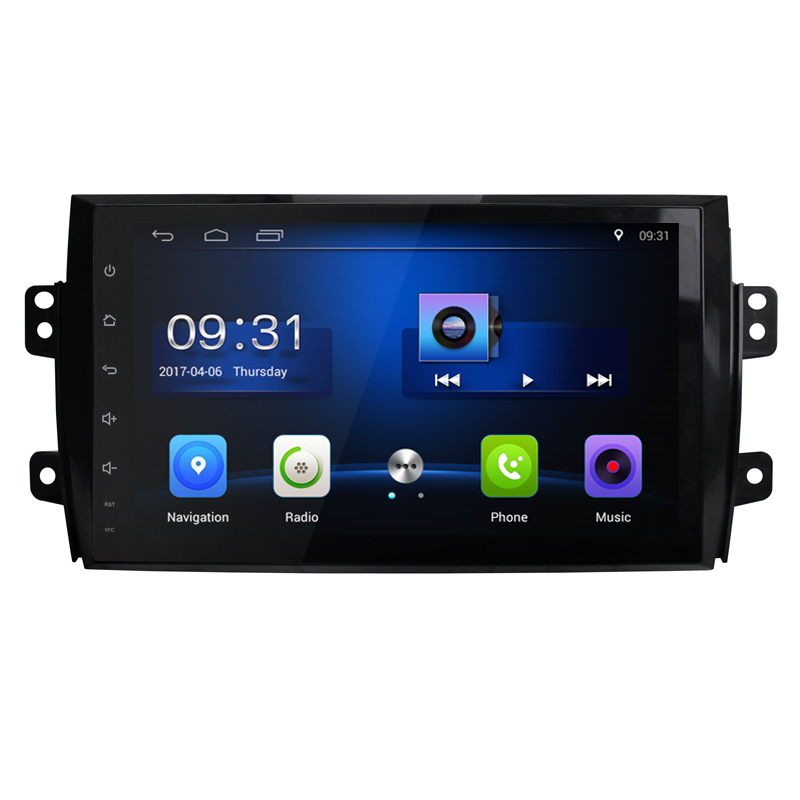 2 din <font><b>Android</b></font> gps For <font><b>Suzuki</b></font> <font><b>SX4</b></font> 2006 2007 <font><b>2008</b></font> 2009 2010 2011 2012 2Din Car Radio Tape Recorder Stereo WIFI RDS Car dvd Player image