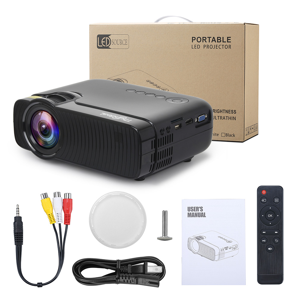 Image 5 - ThundeaL Native 720P Mini Projector Bluetooth Android 6.0 WiFi Beamer TD30 Max LED HD Video HDMI VGA Movie WiFi 3D Proyector