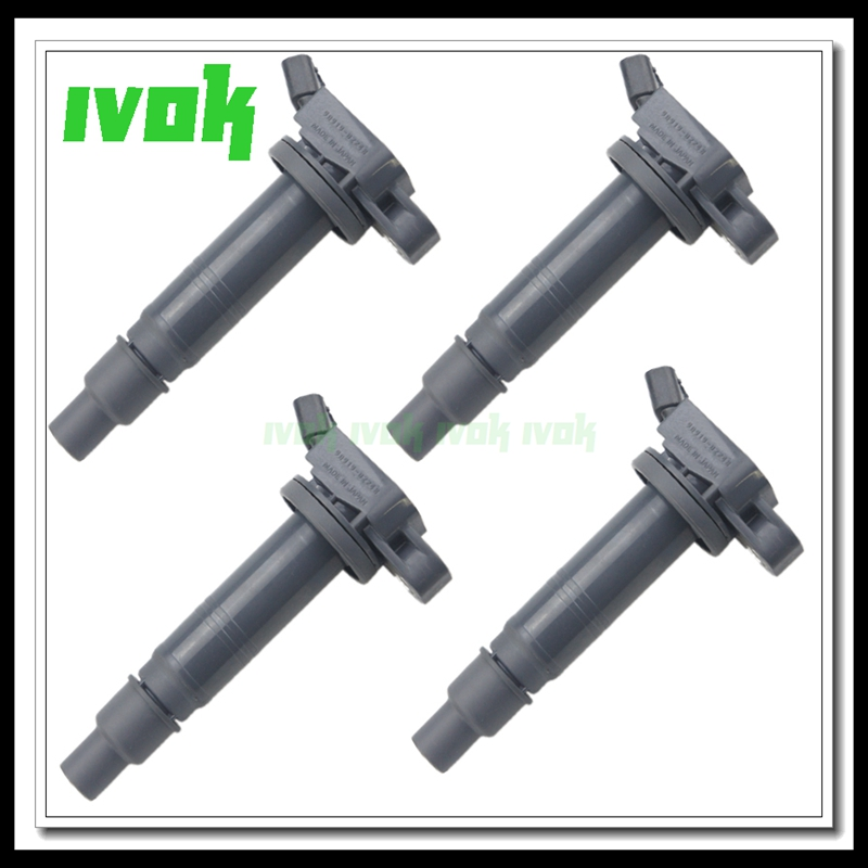 High Quality 4pcs/lot Free Shipping <font><b>9091902248</b></font> Ignition Coil for Toyota 4Runner Tundra Tacoma FJ Cruiser Lexus IS F 90919-02248 image