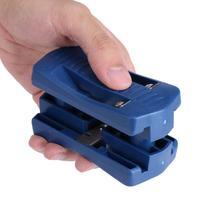 Machine à tailler la queue manuelle, PVC bleu tondeuse à Double tranchant à bois 1 ensemble, outils de menuiserie