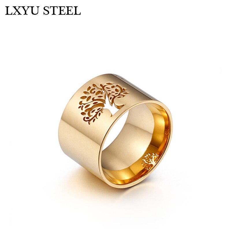 Женские кольца из нержавеющей стали 316L, роскошные кольца из нержавеющей стали с узором в виде клевера для вечеринки/свадьбы|Кольца|   | АлиЭкспресс