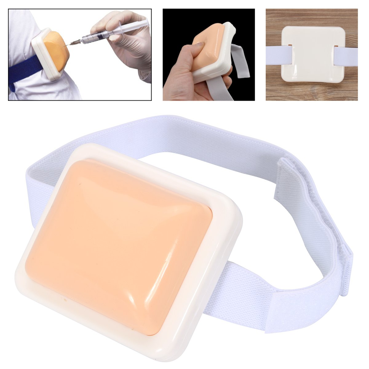 Plastic Intramuscular Injection Training Pad For Nurse Trainning Practice Tools Medical Science Teaching Educational Equipment