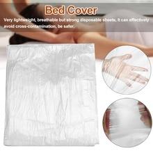 Sheets-Film Massage-Tables Plastic Waxing-Protection Salon Spa 100pcs Bed Transparent