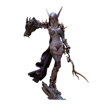 23CM World Of Warcraft WOW Blizzard Toy Adults Undead Sylvanas Figure Doll Figurines Action Decoration PVC Game Figma Modle Toys 1